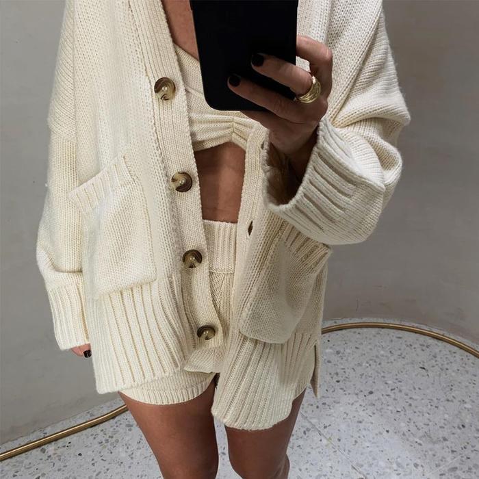Zara Knit Set @mcristinastyling