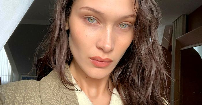How to Get Bella Hadid's Favorite Lived-In Waves by Just Braiding Your Hair