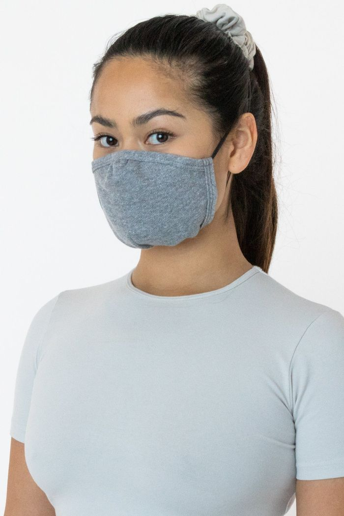 Los Angeles Apparel Facemask3 3-Pack Cotton Mask