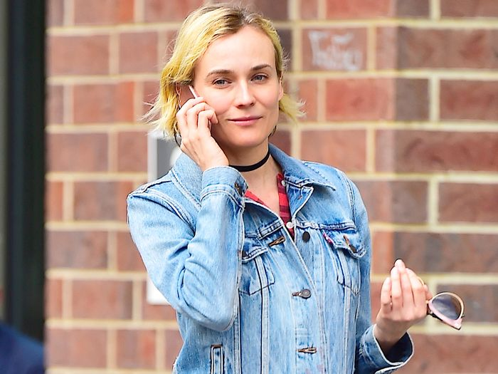 Diane Kruger Wore an Affordable Topshop Dress