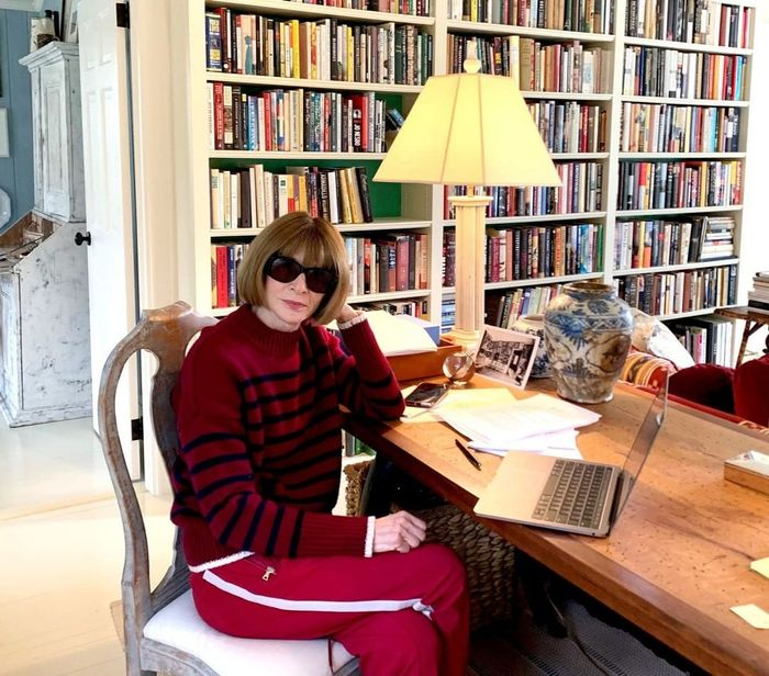 Anna Wintour's home style