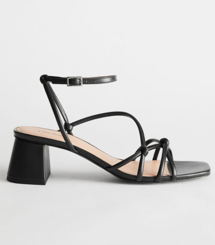 I'll Be Wearing These Strappy Sandals