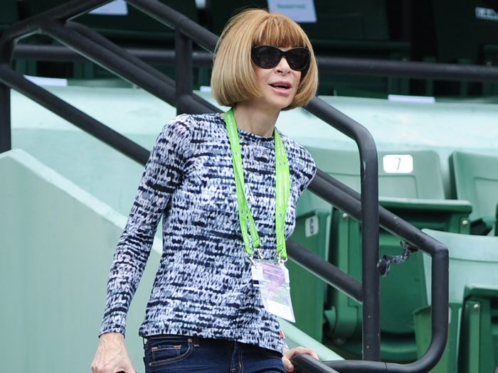 Anna Wintour casual outfit