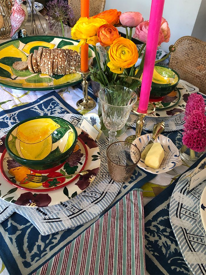 Table Setting Tips: More is More