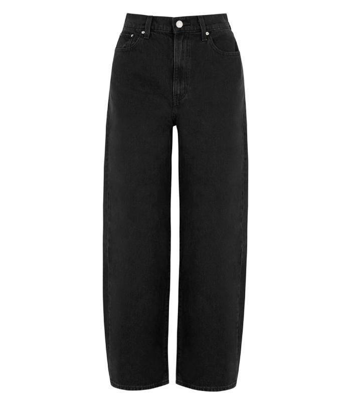 Levi's Black Straight-Leg Jeans
