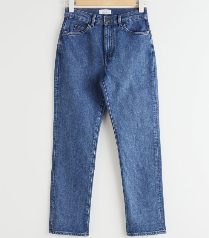 & Other Stories High Rise Slim Jeans