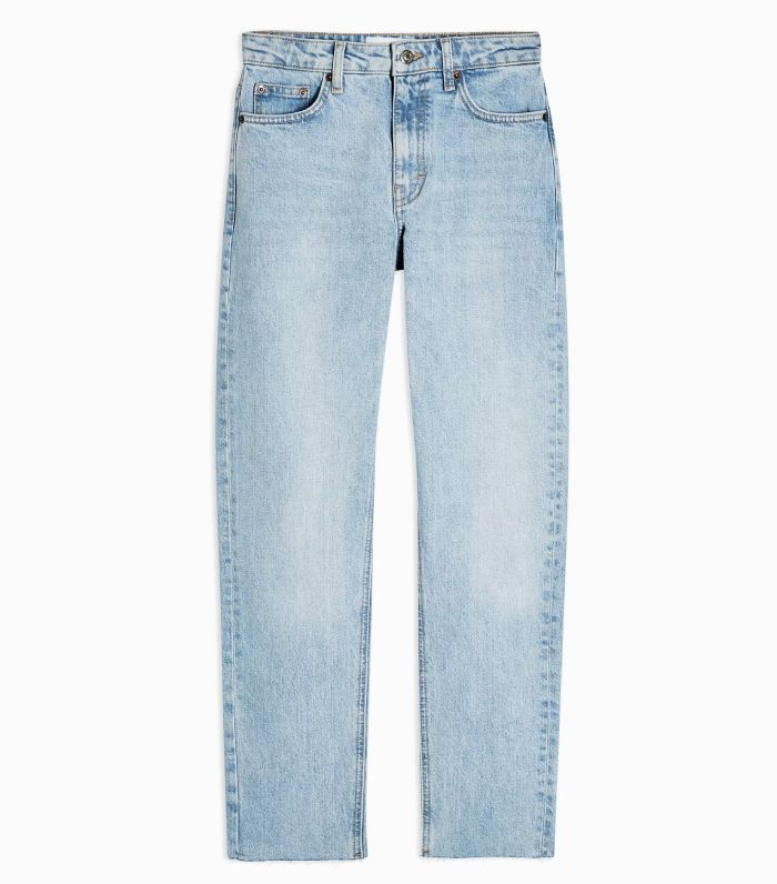Topshop Considered Bleach Straight Jeans