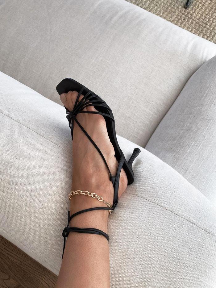 The 27 Best Black Sandals for Women