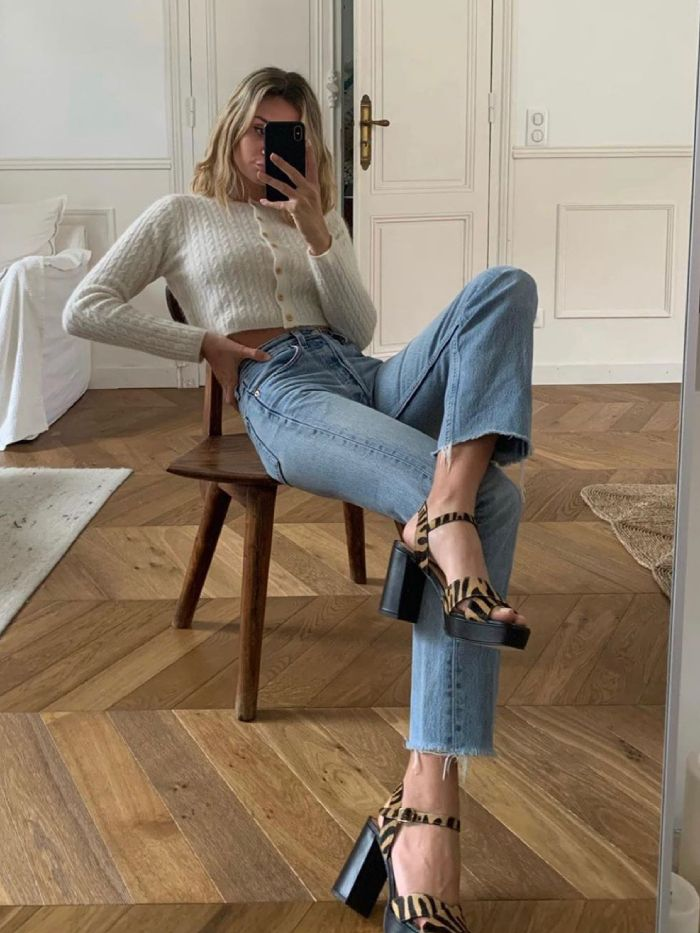 musier paris: anne-laure mais wearing musier