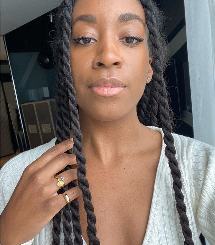 18 Cute And Easy Ish Natural Hairstyles To Try Right Now Who What Wear