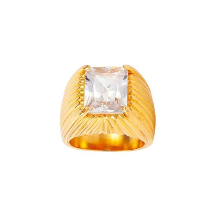 Susan Caplan Vintage Gold Plated Statement Ring