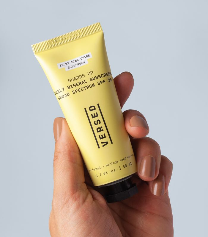 Versed guards-up daily mineral sunscreen review