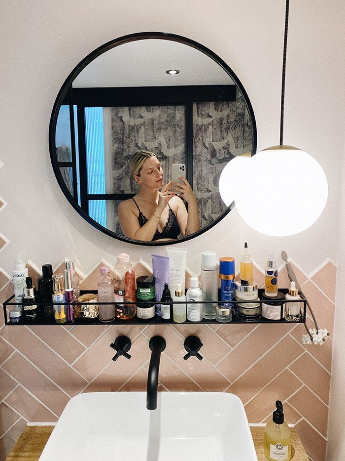 Beauty Storage Ideas: Estée Lalonde