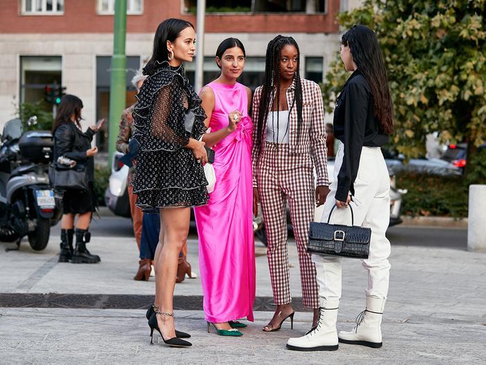 Fashion girl street style