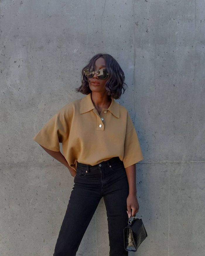 Easy to style summer fashion buys: Polo top and jeans