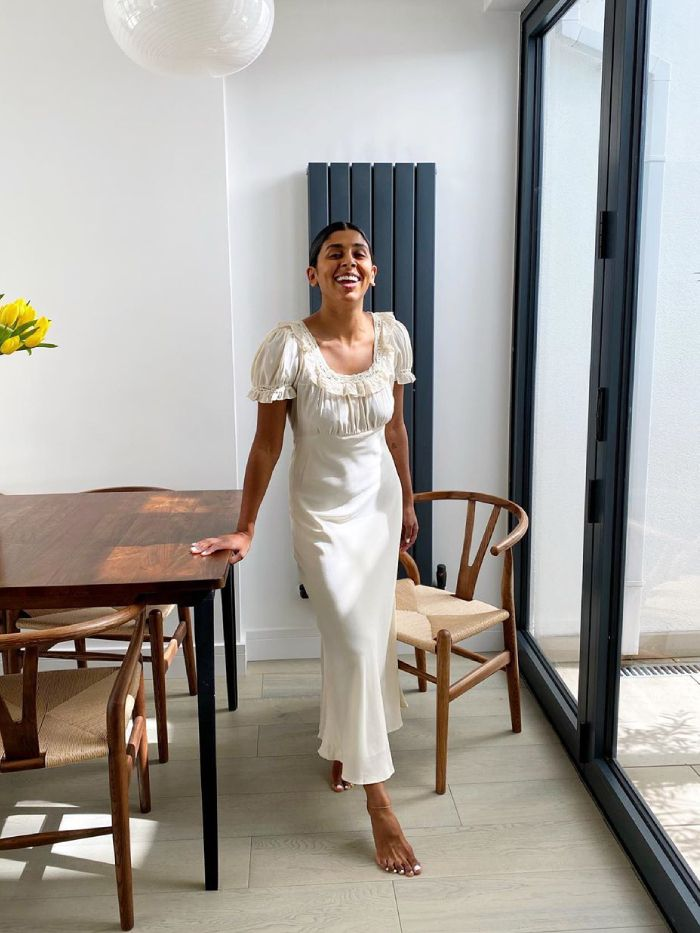 nightgown dress trend: monikh