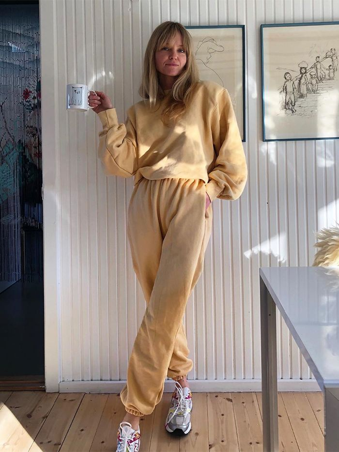 Scandi Girl At Home Outfits: Jeanette Madsen