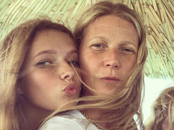Gwyneth Paltrow's Daughter, Apple Martin, Looks Cute in a Reformation Dress