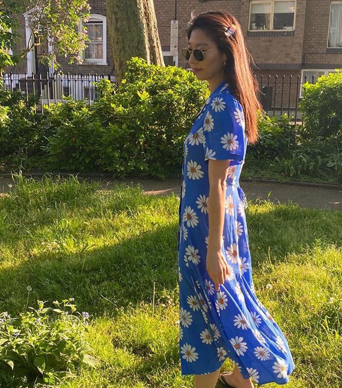 Micro-trends summer 2020: daisy print dress