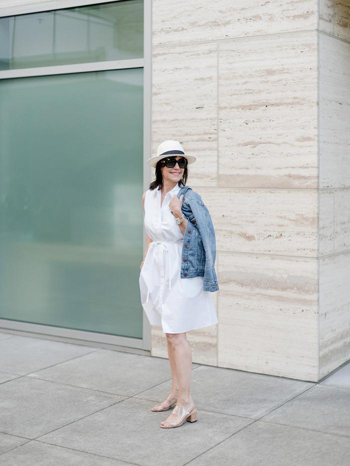The best white shirt dresses