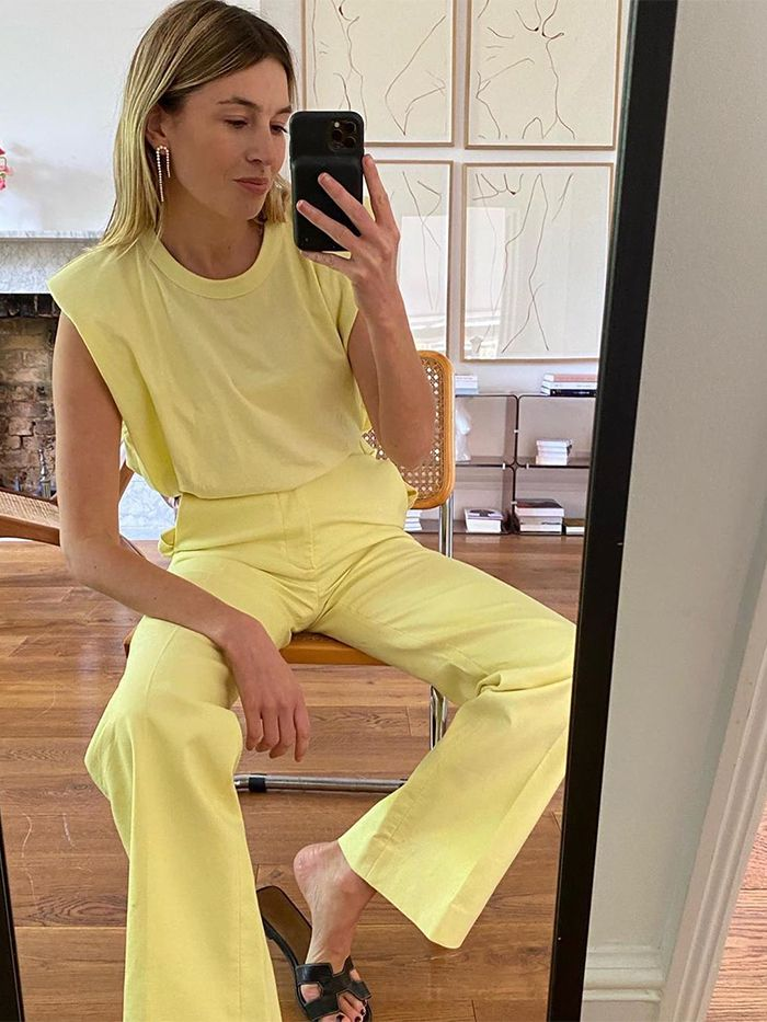 Frankie Shop Muscle T-Shirt: Camille Charriere