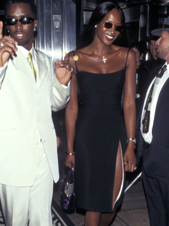 Best Slip Dresses: Naomi Campbell 90s Slip Dress