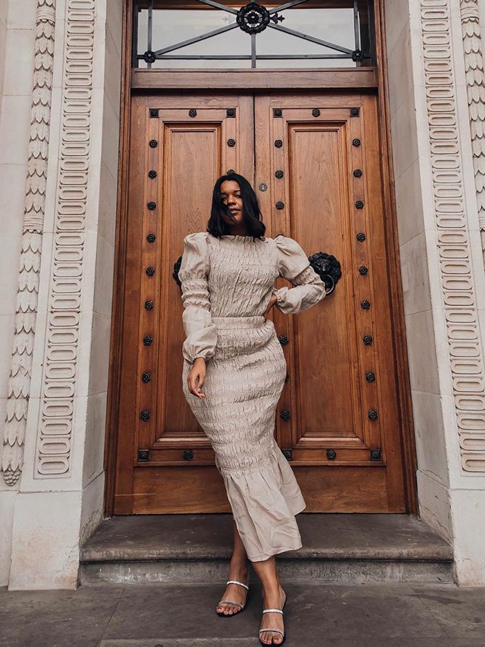 2020 Skirts Trends: Shirred Skirt