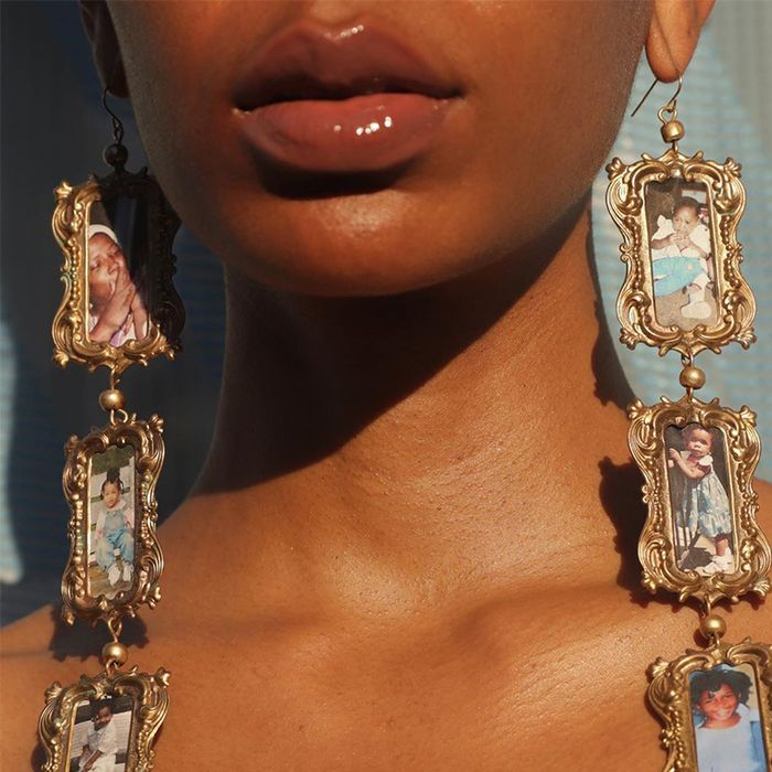 Gold Tone Craft Jewelry Lot Chains Chunky Pieces Vintage Modern