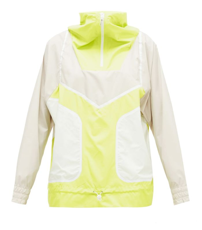 Adidas by Stella McCartney Half-Zip Technical Running Jacket