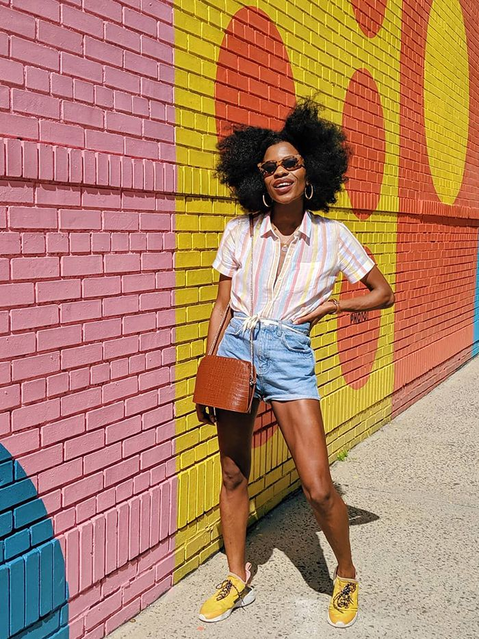 What To Wear In A Heatwave: Jean Shorts + Shirt