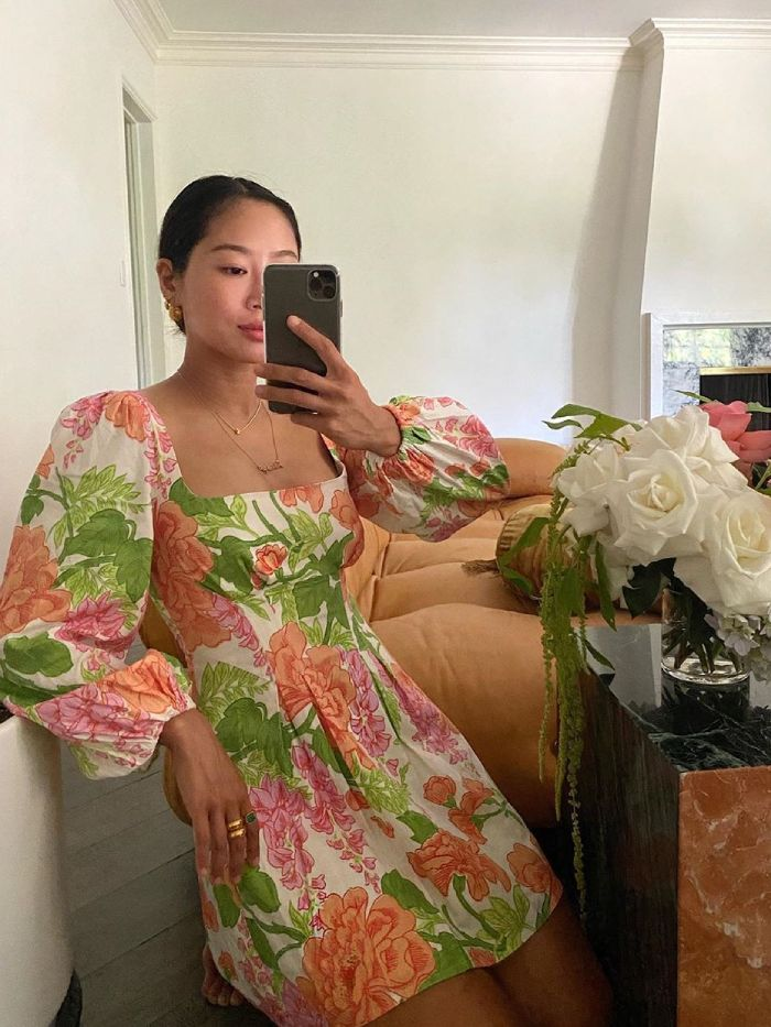best floral summer dresses: aimee song