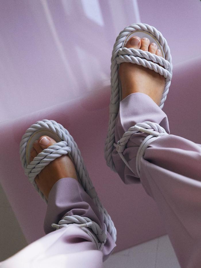 best rope sandals: emili sindlev