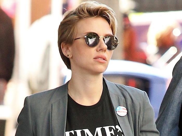 Scarlett Johansson Just Wore The Cutest Summer Dress Who What Wear