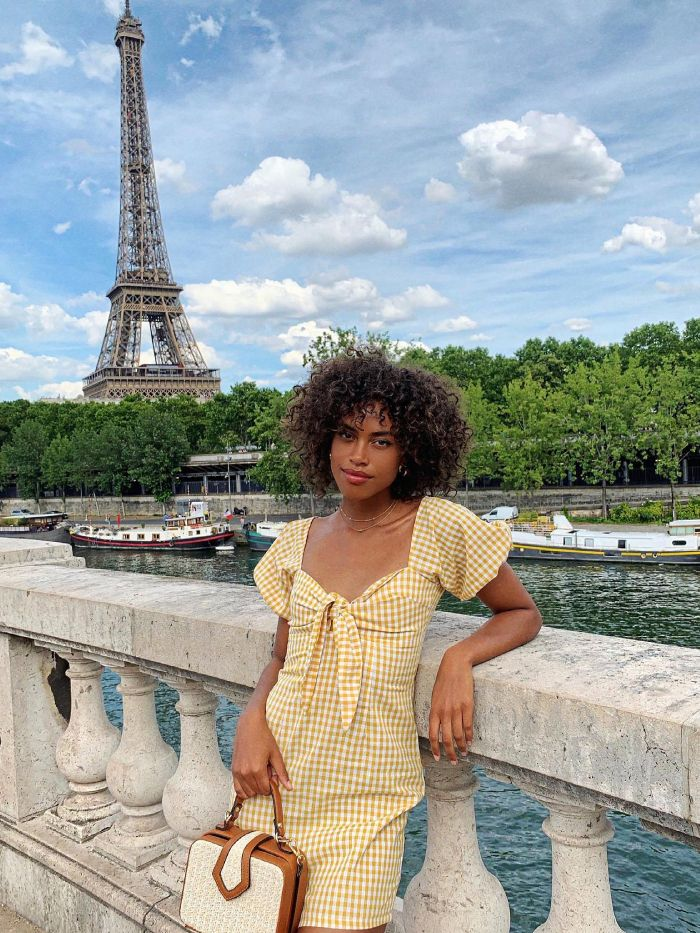 french summer style: a summer dress