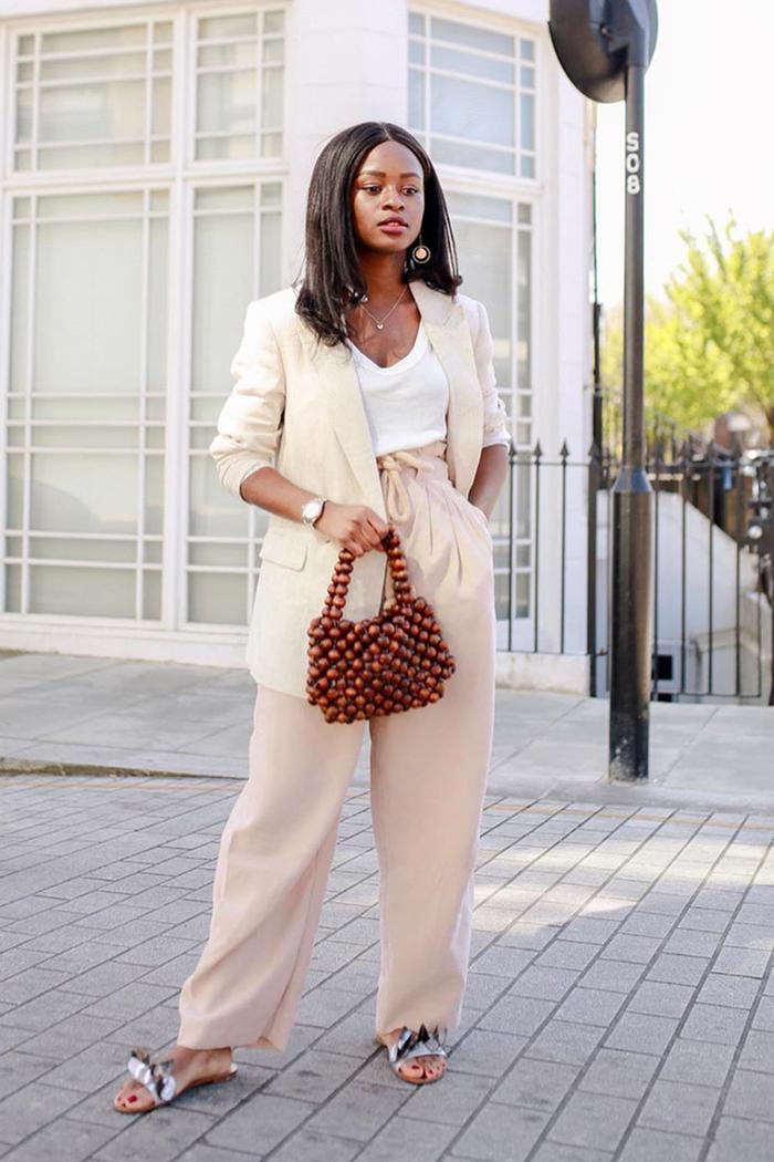 Summer linen suits