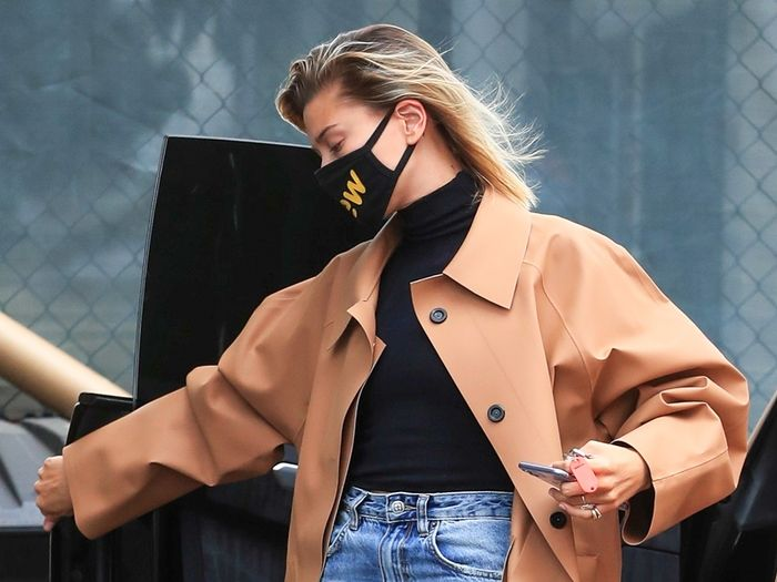 Hailey Bieber's Latest Look Is a Sign of Fall Outfits to Come