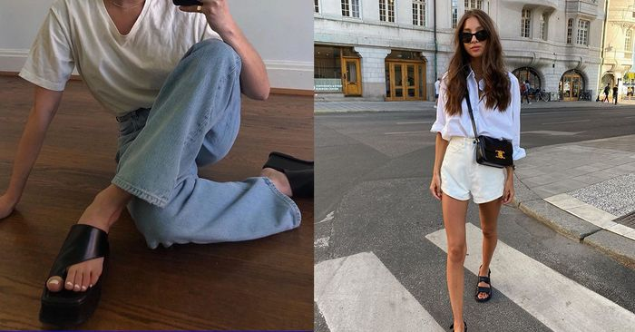 "17 Ways Our Readers Are Wearing Summer's ""Ugly"" Shoe Trend"