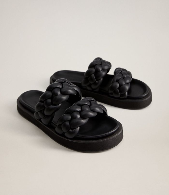 Puffy, Padded Sandals Are the Latest
