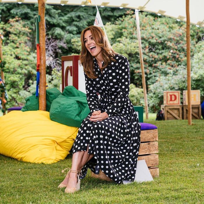 Kate Middleton's Polka Dot Dress