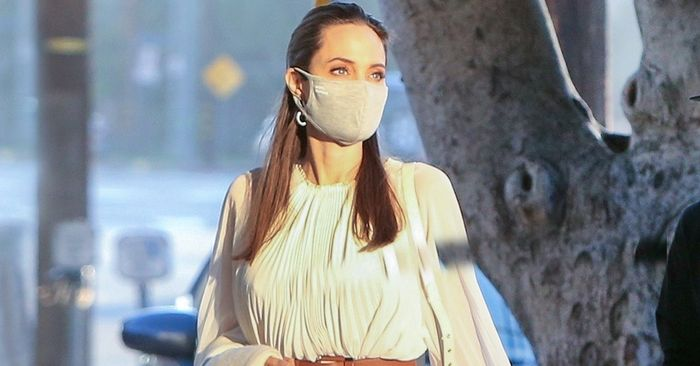 Angelina Jolie and I Own the Same Cheap Face Mask—And It's Very Comfortable