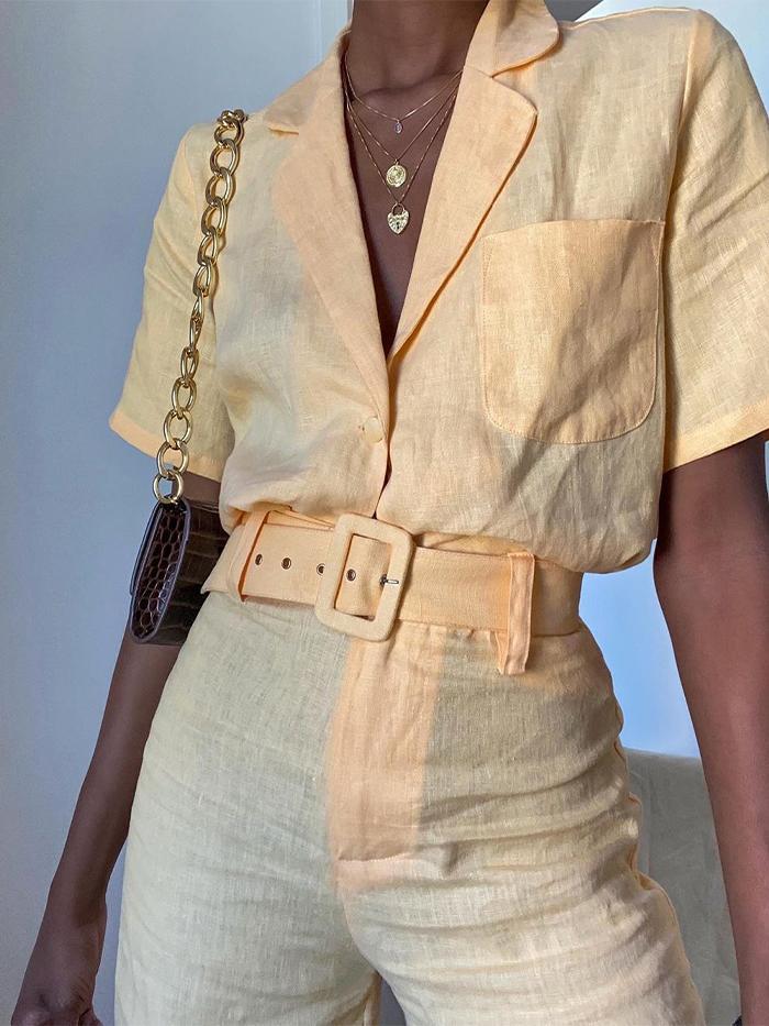 Best Short and Shirt Sets: @emmanuellek_