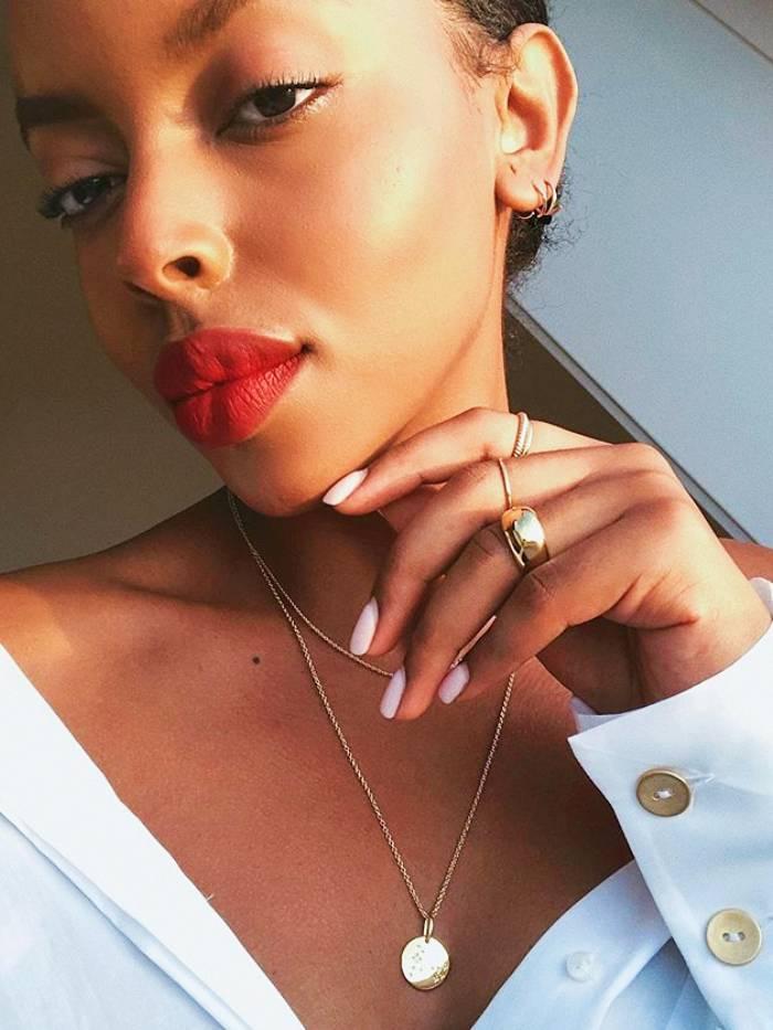 Neutral Nails: Aysha Sow