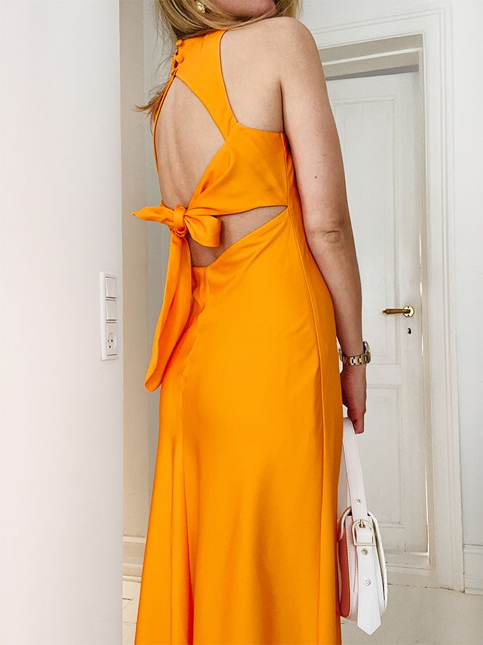 Who What Wear Collection: Orange Dress