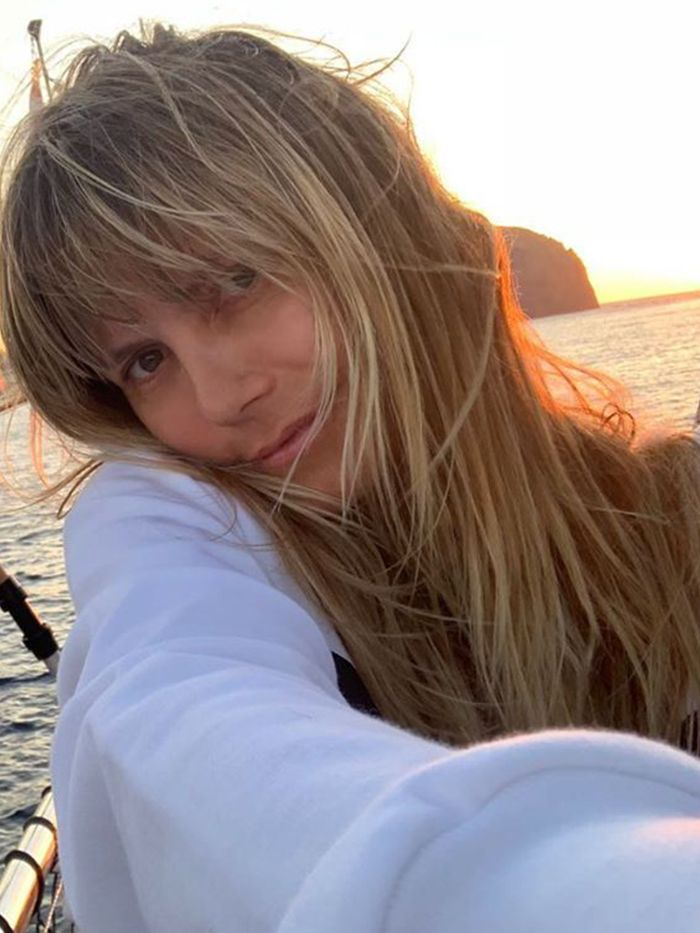 Heidi Klum beauty tips: Heidi Klum