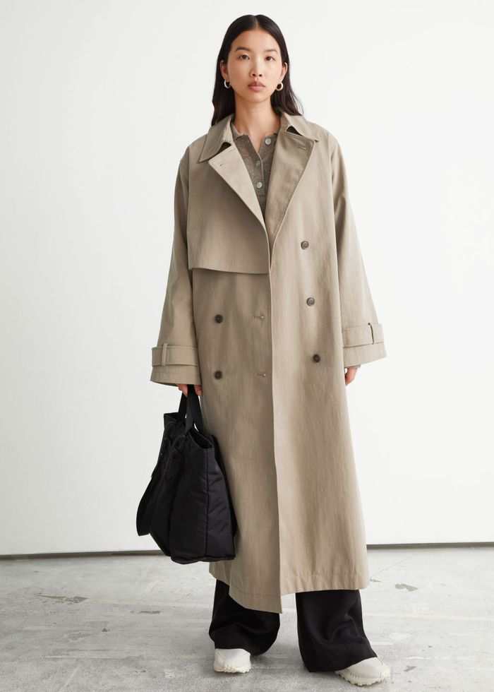 & Other Stories Relaxed Trench Coat