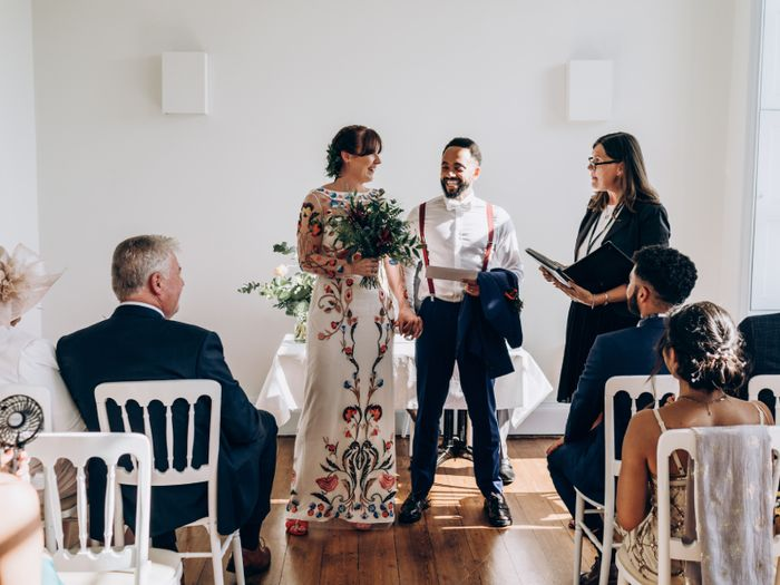 7 Brides on What They Wore to Their Civil Ceremonies