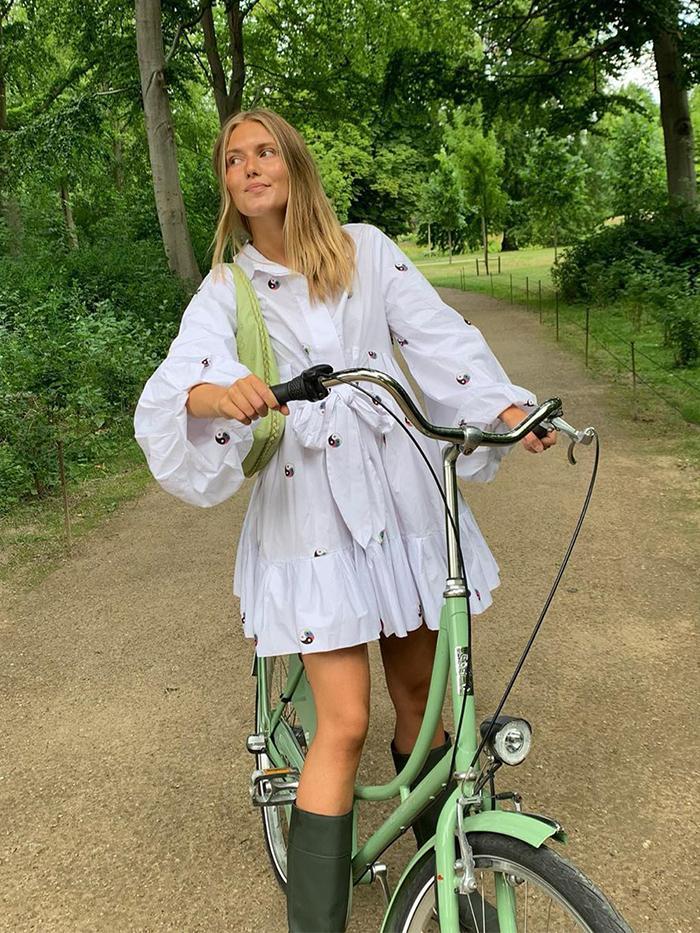 Summer Dresses + Boots: Anna Sarlvit
