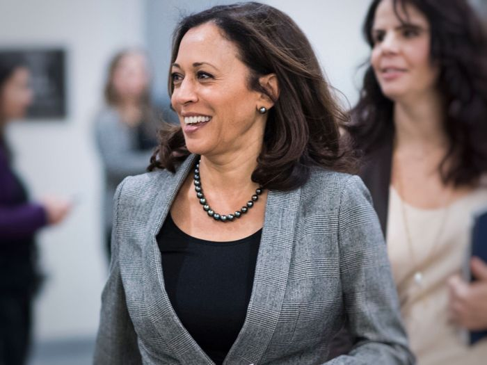 Kamala Harris Has Been Wearing Her Signature Accessory for 35 Years