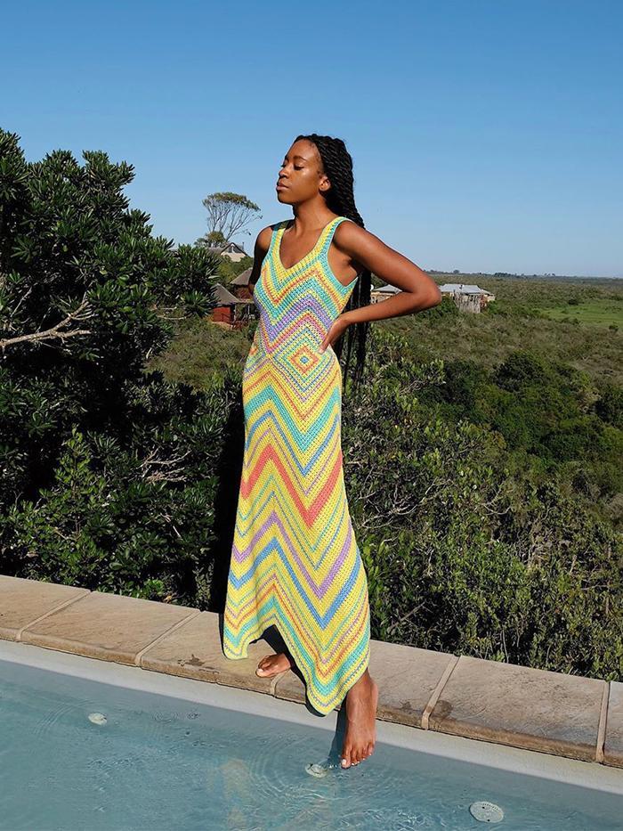 Crochet Summer trend: chrissy Rutherford