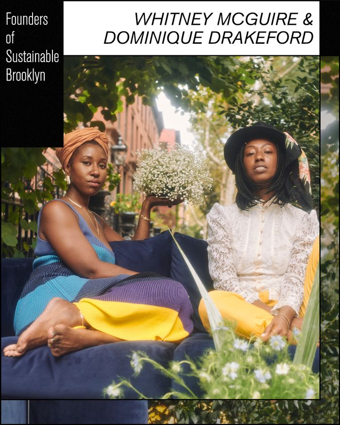 Whitney McGuire and Dominique Drakeford of Sustainable Brooklyn